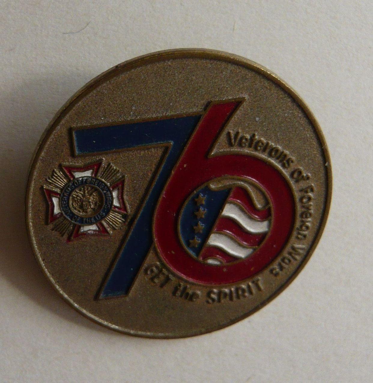 USA veterán 76 divize Za boje v zahraničí