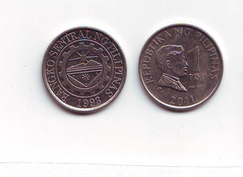 1 Peso(2011-Filipíny), stav 1/1