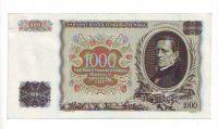 1000Ks/1934-39, přetisk Slovenský Štát/, stav 1+ perf. 2x SPECIMEN, série M