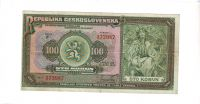 100Kč/1920/, stav 2+, série F