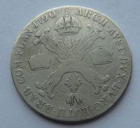 Rakousko 1/2 Tolar 1790 A Josef II.