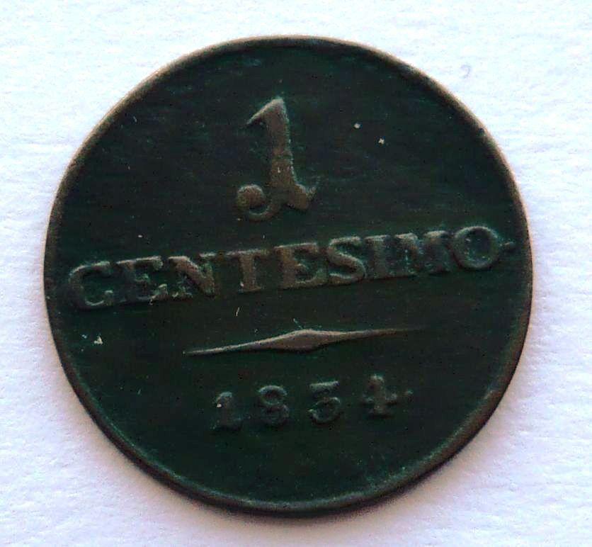 Rakousko 1 Centesimi 1834 V František II.