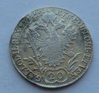 Rakousko 20 Krejcar 1822 A František II.
