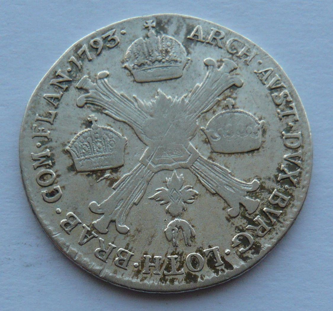 Uhry 1/4 Tolar 1793 B František II.