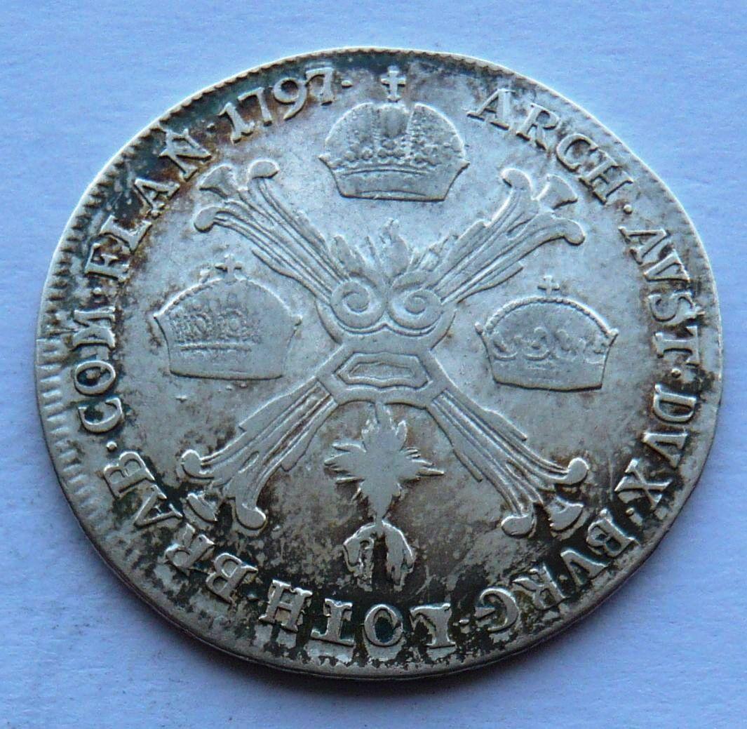 Uhry 1/4 Tolar 1797 B František II.