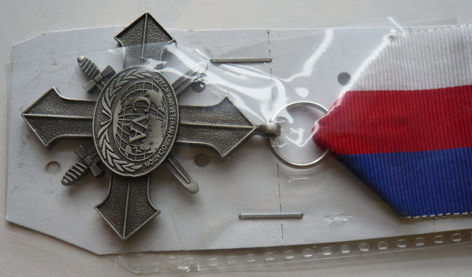 ČR Kříž asociace váleč. veteránů pro čs. účastníky stříbrný stupeň