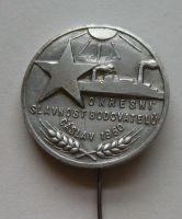ČSR Okresní slavnost budovatelů Čáslav 1950