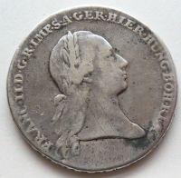 Rak.Nizoz. Tolar křížový 1794 Brusel František II.