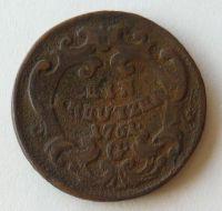 Rakousko 1 Krejcar 1761 Marie Terezie - Gratz