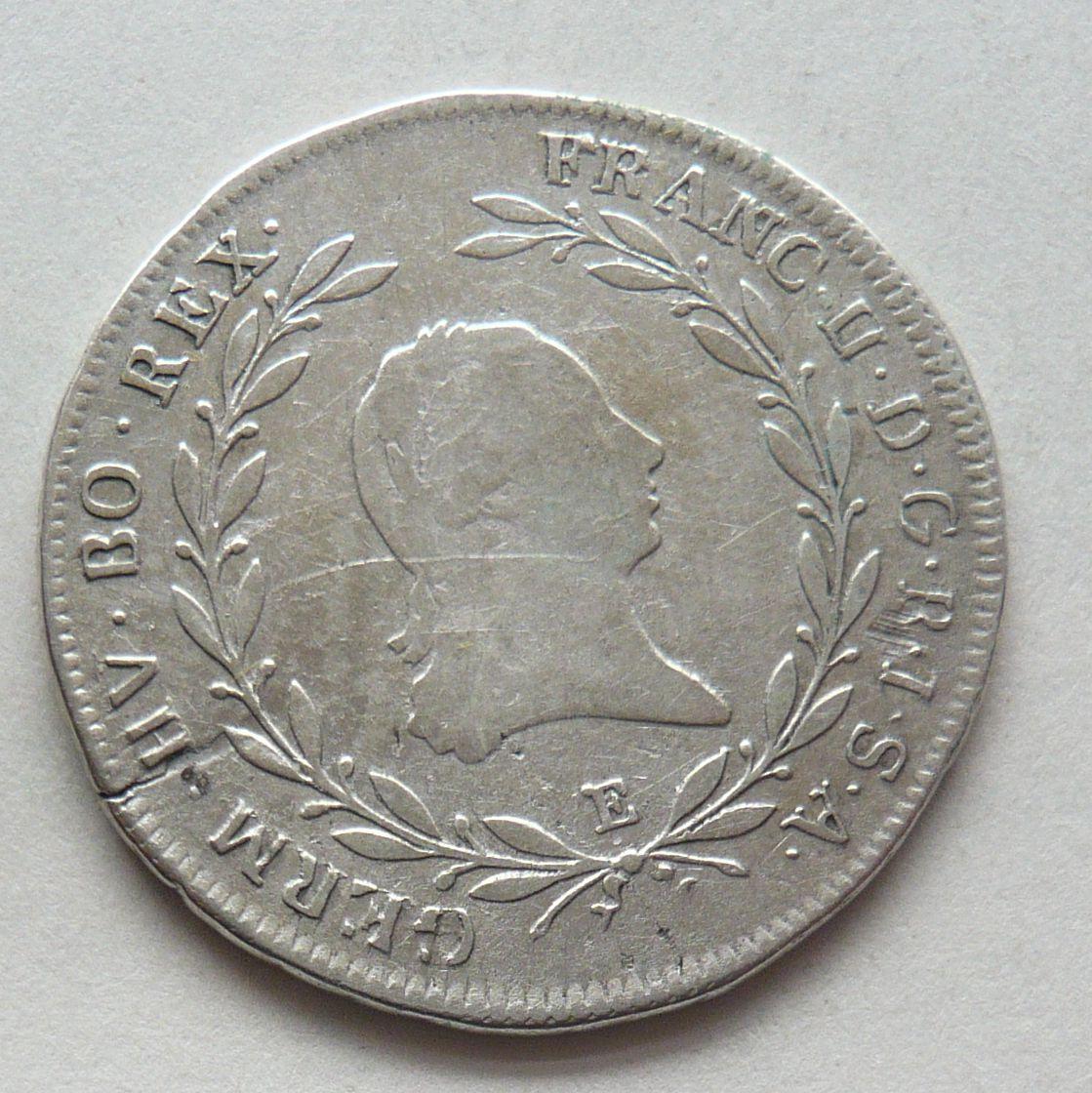 Rakousko 20 Krejcar 1794 E František II.