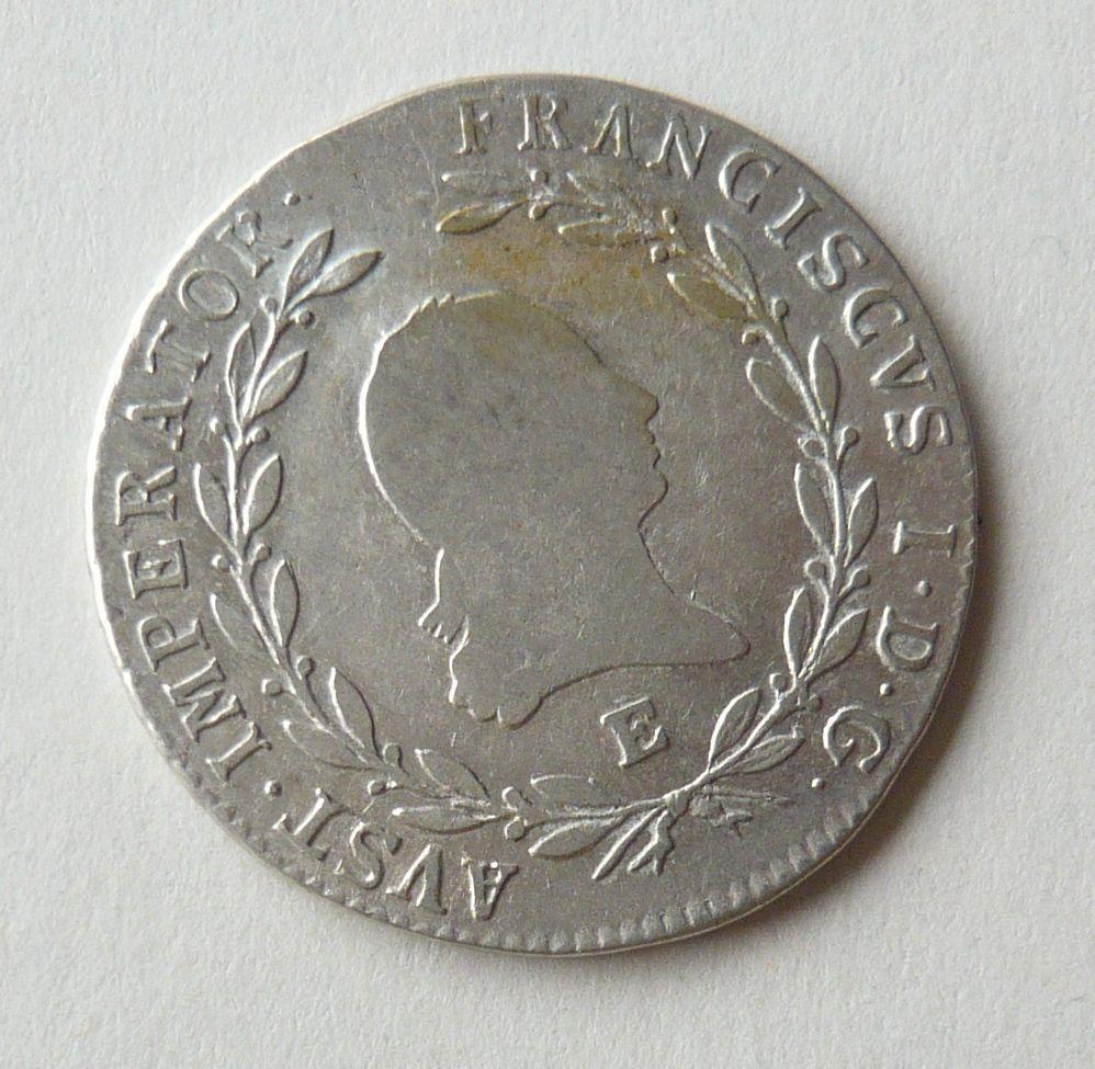 Rakousko 20 Krejcar 1809 E František II.