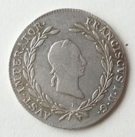 Rakousko 20 Krejcar 1826 E František II.