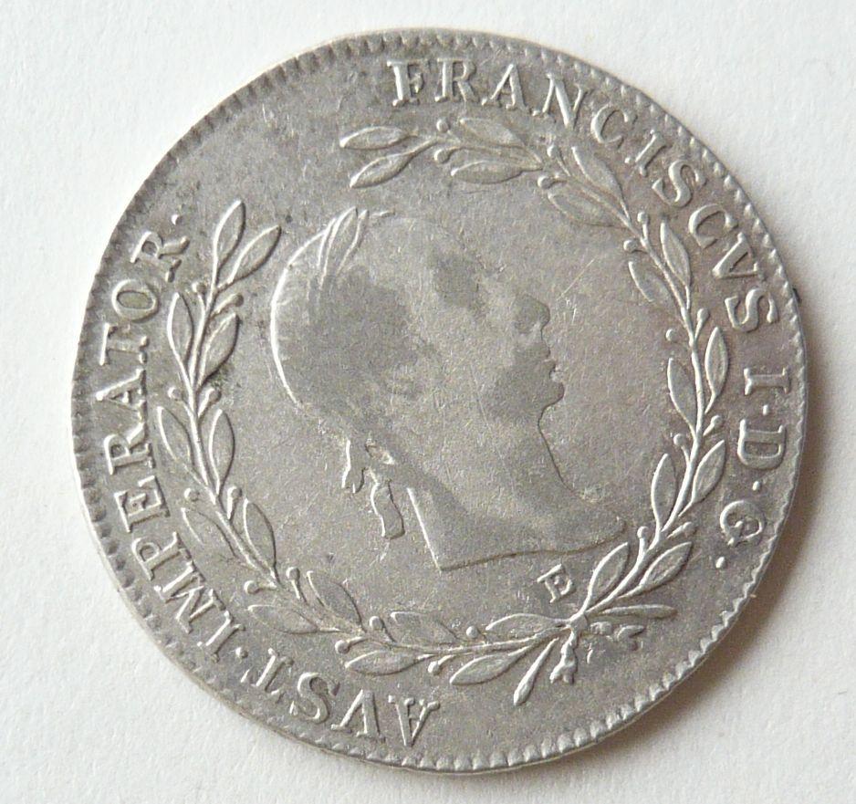 Rakousko 20 Krejcar 1830 E František II.