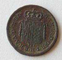 Rakousko Půlsoldo 1777 Marie Terezie