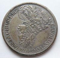Rakousko Tolar cikánský 1721 Karel VI. KOPIE