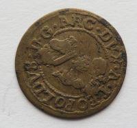 Tyroly 1 Krejcar b.l. 1625-32 arciv. Leopold
