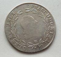Uhry 20 Krejcar znak 1804 B František II.