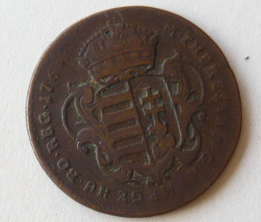 Uhry Denár 1765 Marie Terezie