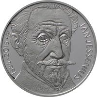 200 Kč(2016-Jan Jessenius), stav bk, kapsle a certifikát