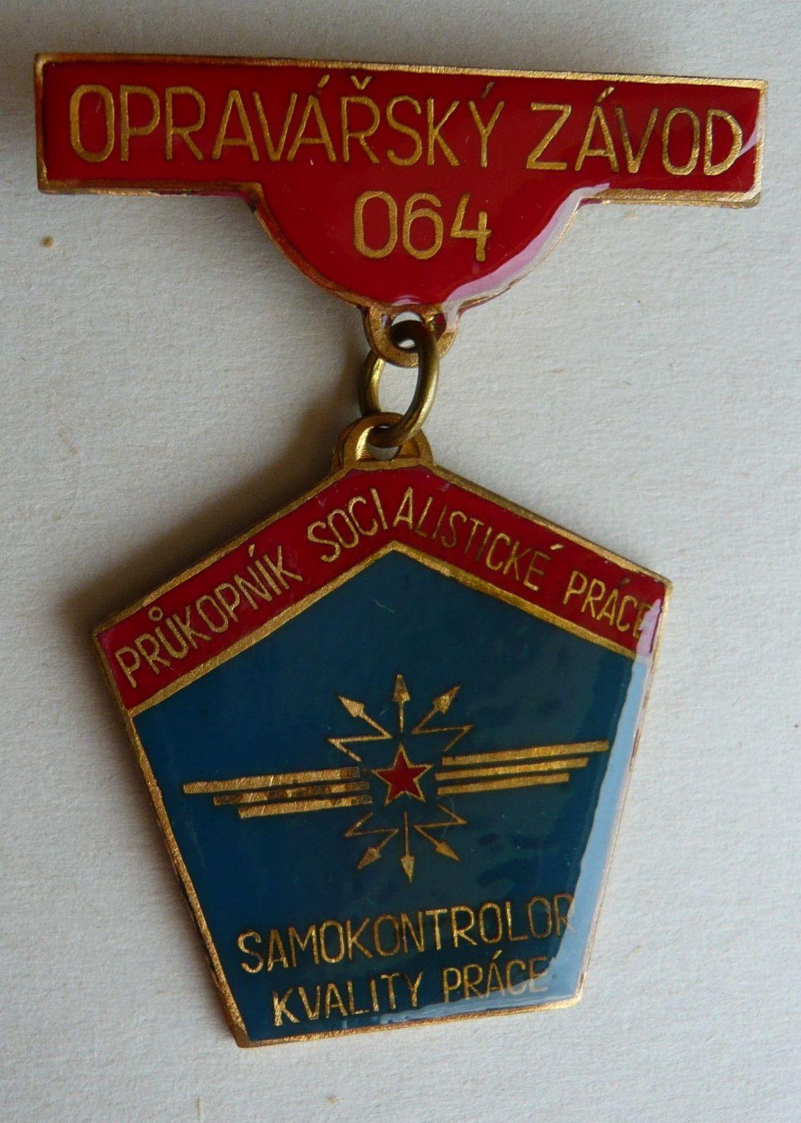 ČSR - Vojenský opravárenský závod - průkopník soc.práce