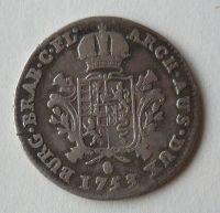 Rak. Nizozemí 1/8 Dukaton 1753 Marie Terezie
