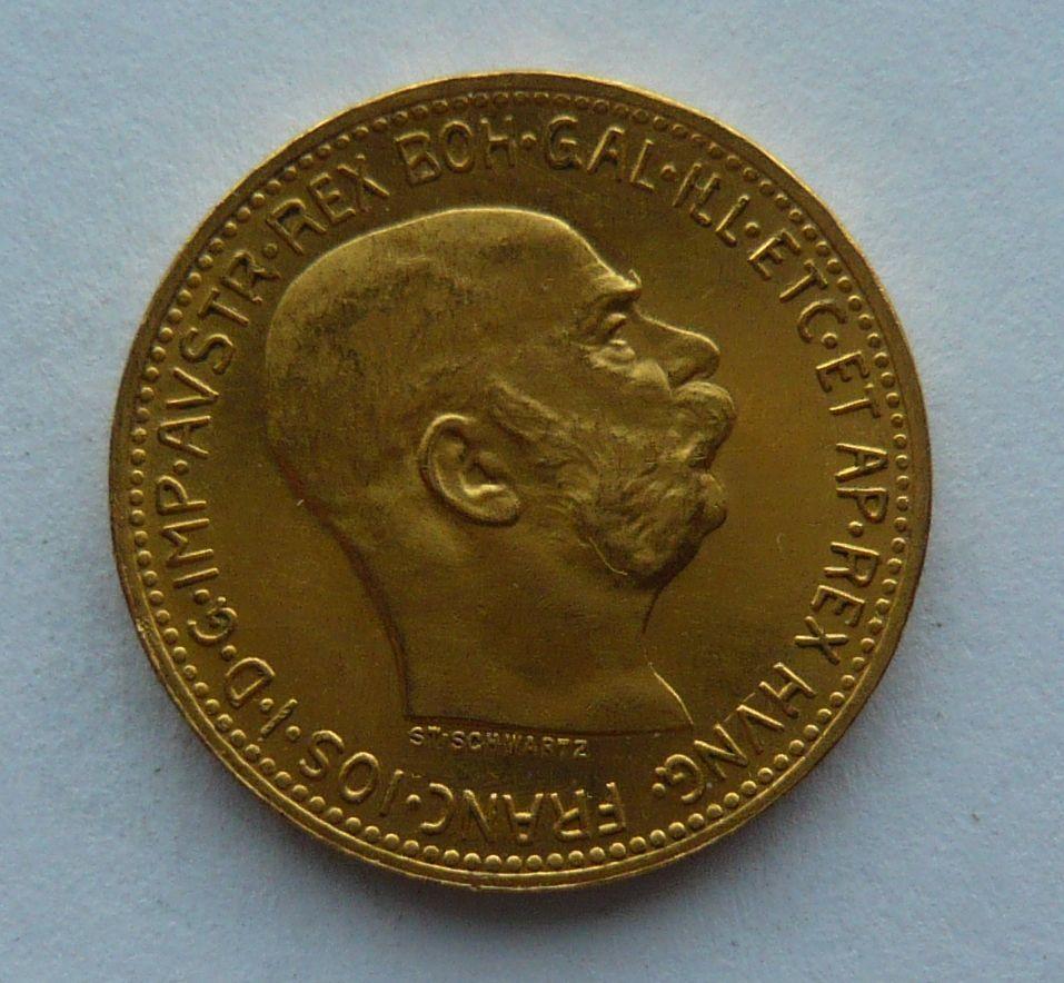 Rakousko 20 Korun novoražba Au 1915