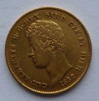Sardinie 20 Lira 1832 Carl Albert