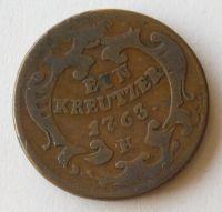 Uhry 1 Krejcar 1763 K Marie Terezie - Kremnica