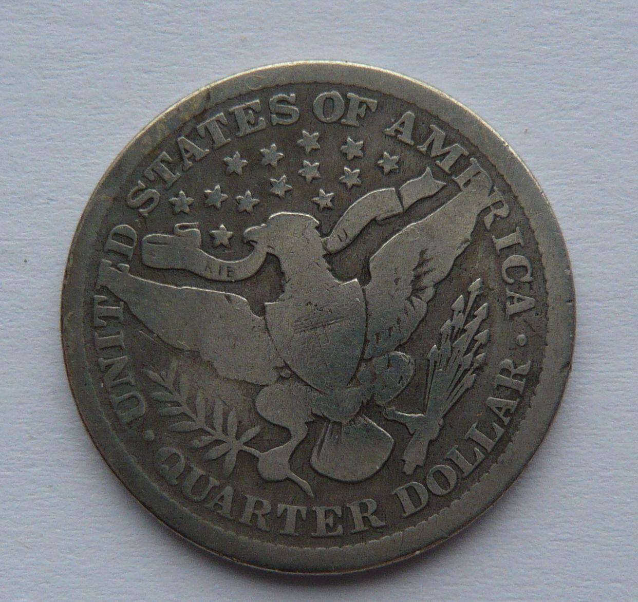 USA 1/4 Dol. 1892