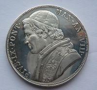 Vatikán 5 Lira KOPIE 1870 Pius IX.