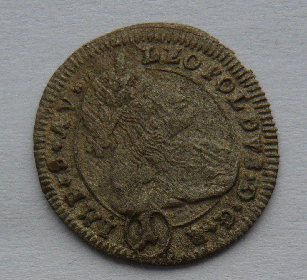 Čechy 1 Krejcar 1703 Leopold I.
