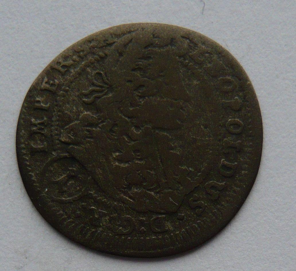 Čechy 1 Krejcar 1703 Praha - Leopold I.