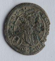 Čechy 1 Krejcar 1704 Leopold I.