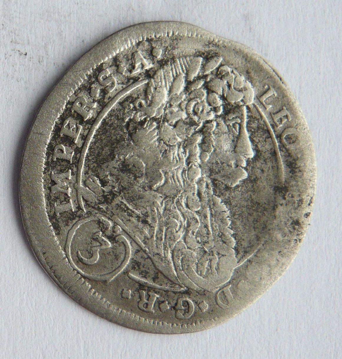 3cae1ef77 Čechy 3 Krejcar 1699 Leopold I.