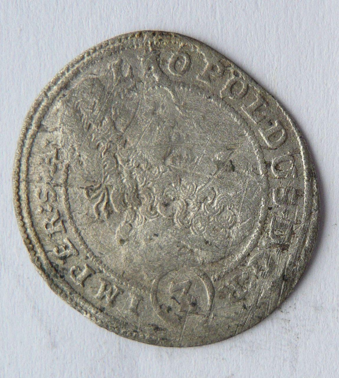 Čechy 3 Krejcar 1701 Praha - Leopold I.