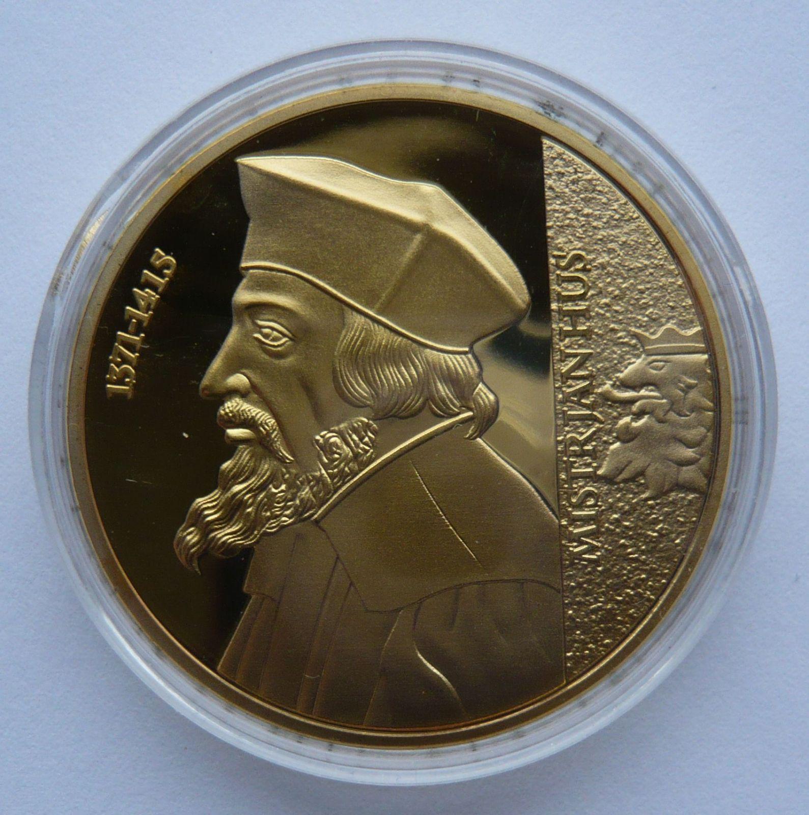 ČR největší Čech Jan Hus