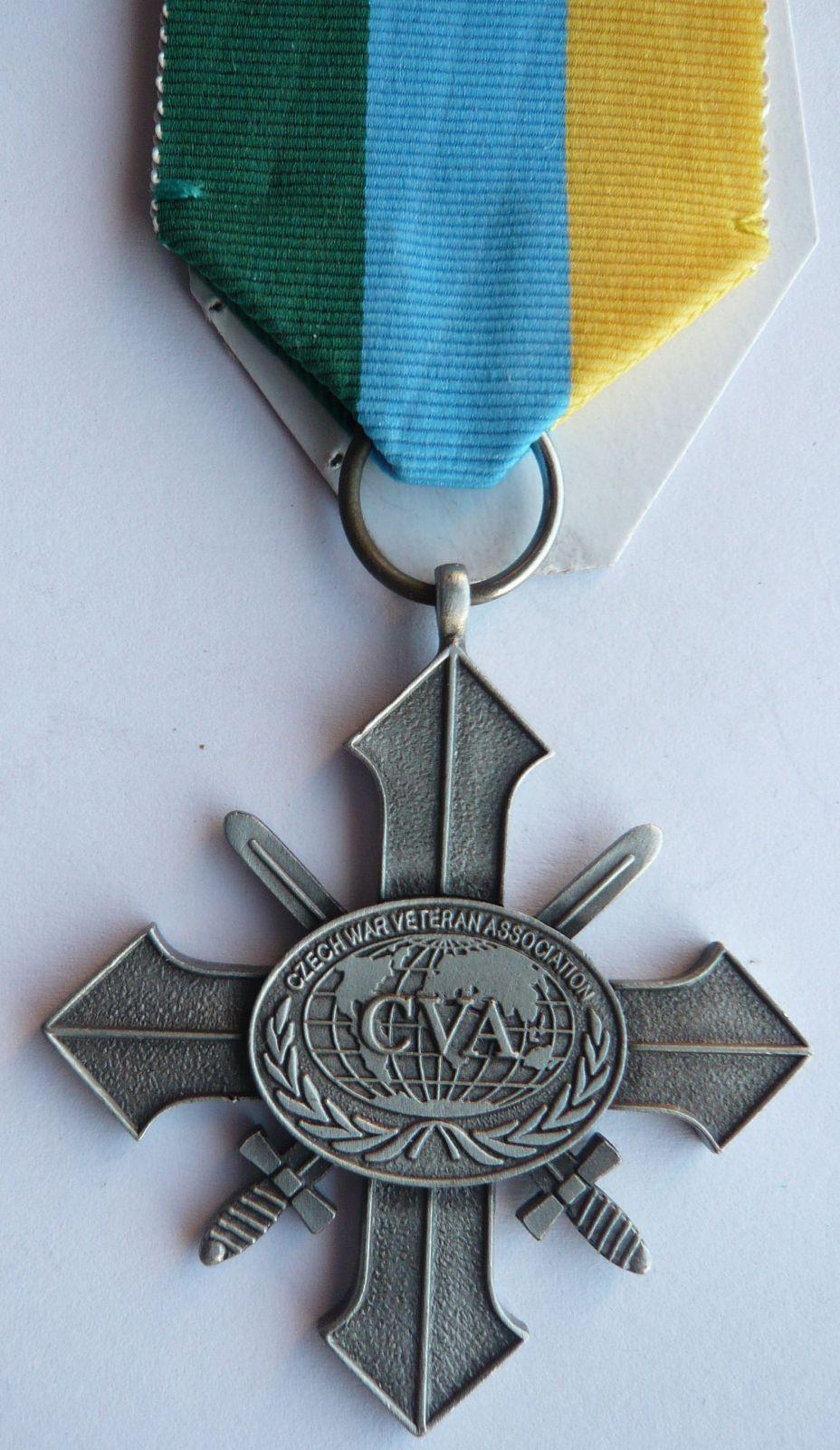 ČSR kříž asociace váleč.veteránů st.st