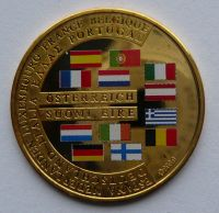 Německo Mince Evropské unie Au 999 - 8g