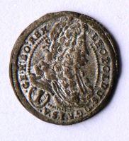 Rakousko 1 Krejcar 1697 Vídeň - Leopold I.
