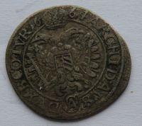 Rakousko 3 Krejcar 1664 Leopold I.