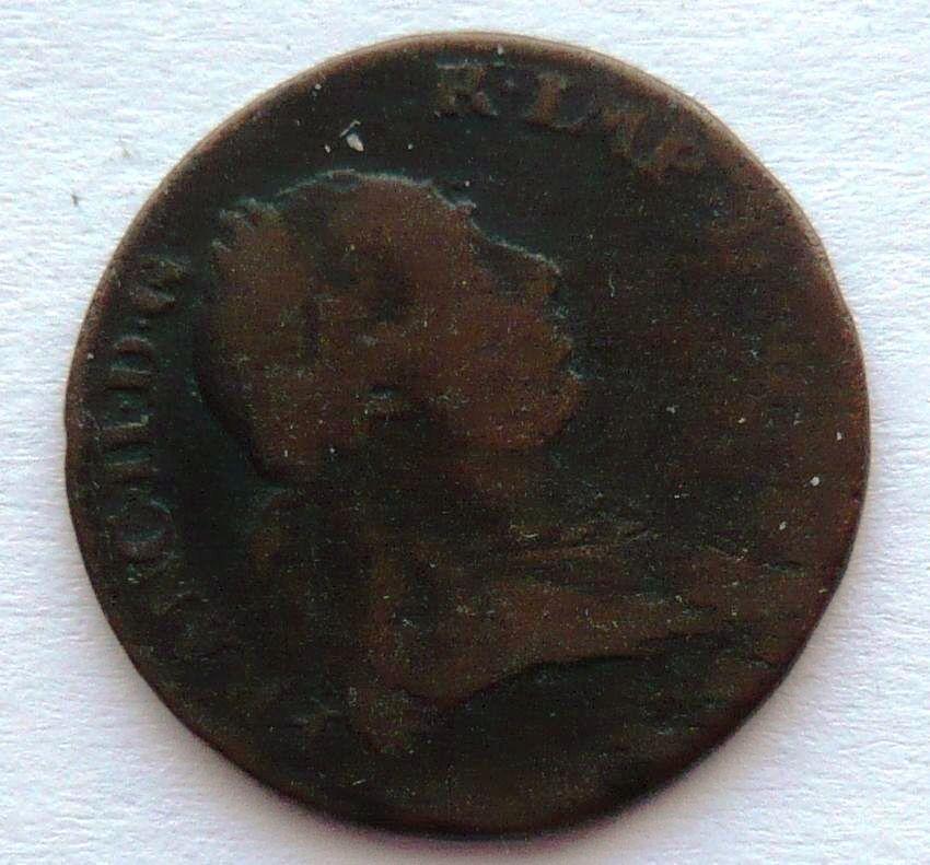 Rakousku - Nizozemí 1 Liard 1793 František II.