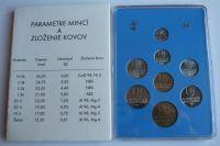 Ročníková sadad mincí SR (1993), stav bk