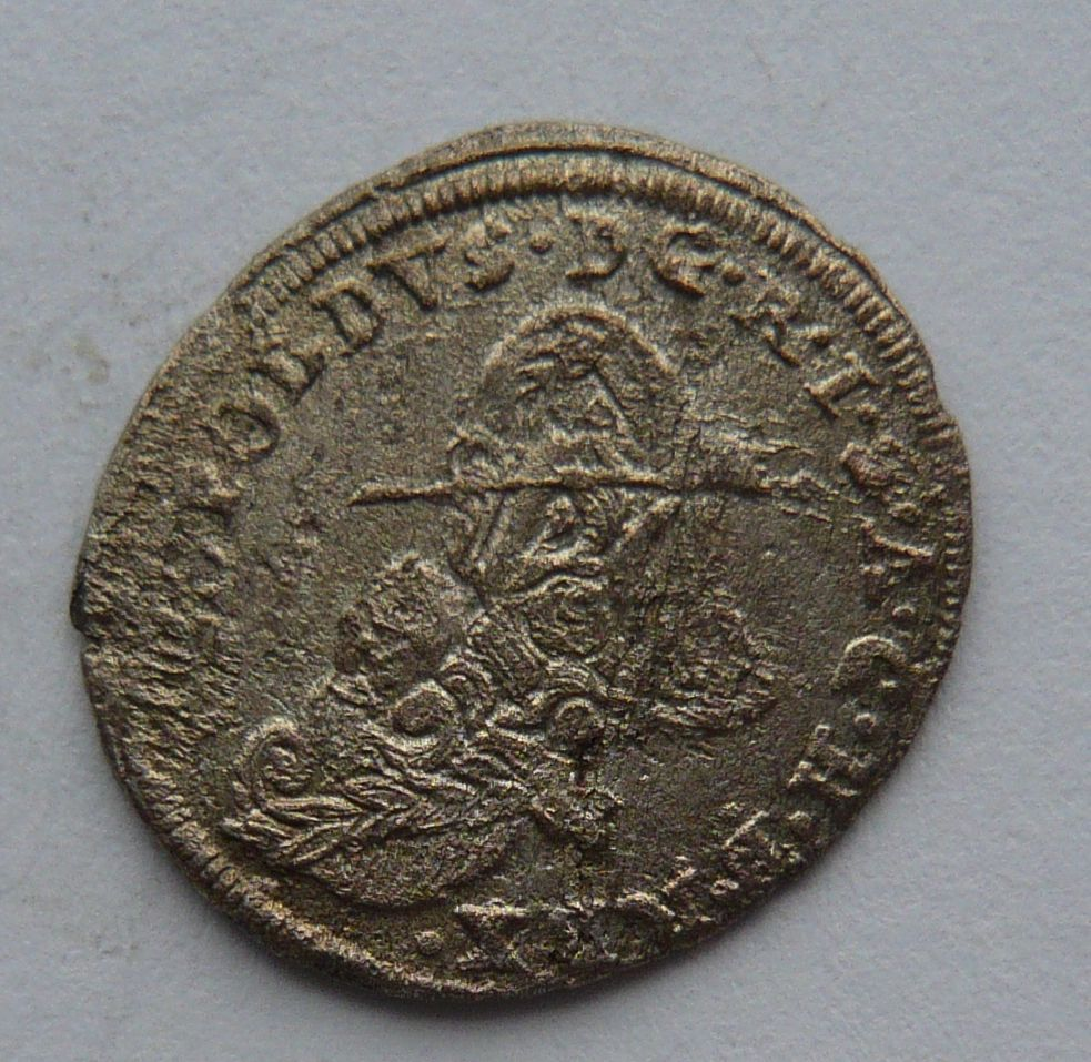 Slezsko 1 Krejcar 1695 Leopold I.