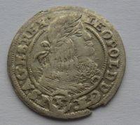 Slezsko 3 Krejcar 1661 Leopold I.