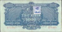 1000K/1944, kolek ČSR/, stav 1 perf. 2x SPECIMEN, série CK