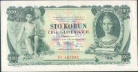 100Kč/1931/, stav 2+, série Cc