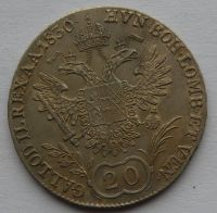 Čechy 20 Krejcar 1830 C - František II.
