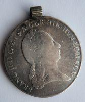 Čechy dobové ouško 1796 C křížový František II.