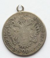 Rakousko 2 Krejcar bez letopočtu Ferdinand V. - (1835-1848) - dobové ouško