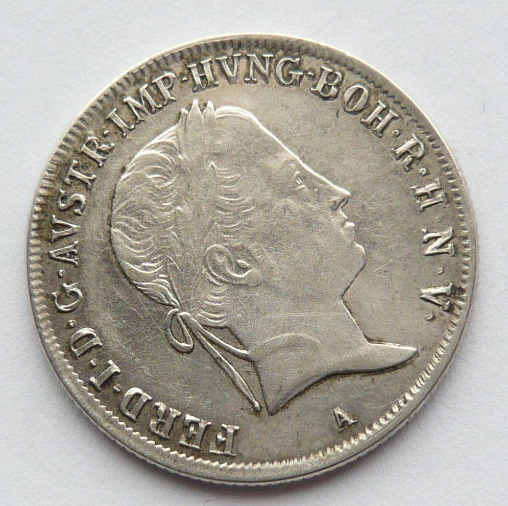 Rakousko 20 Krejcar 1841 A - Ferdinand V.